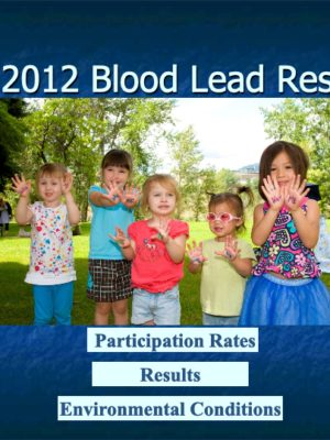Fall 2012 Blood Lead Report