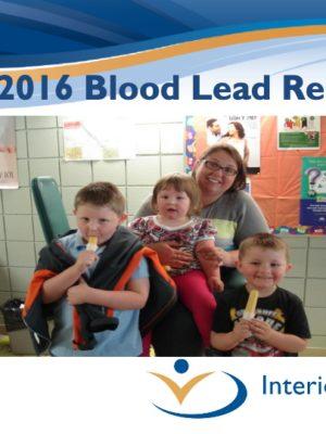 Fall 2016 Blood Lead Report