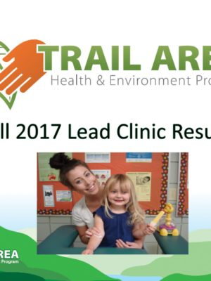 Fall 2017 Blood Lead Report