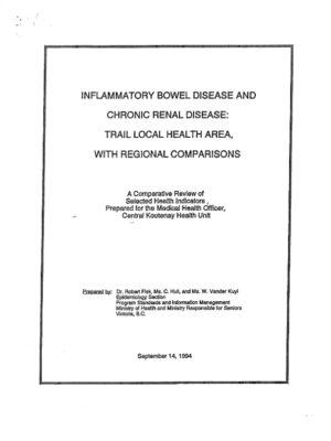 Trail Area IBD & CRD Study (1994)
