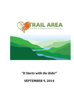 Trail Area Health & Environment Program Document (2014)