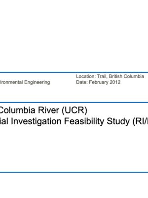 Upper Columbia River Remedial Study (2012)