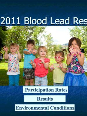 Fall 2011 Blood Lead Report