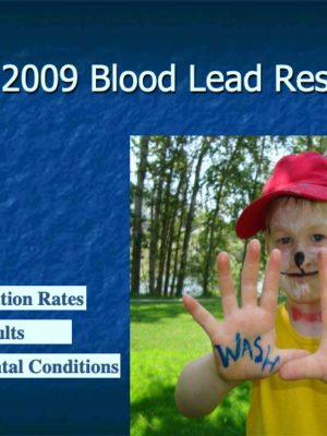 Fall 2009 Blood Lead Report