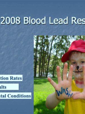 Blood Lead Levels in Trail Fall 2008