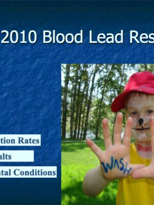 Blood Lead Levels in Trail Fall 2010